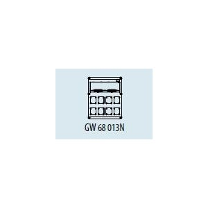 Cuadro Estanco 20 Elementos + 8 Bases GW68013N