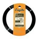 Guía pasacables Estiare-Anguila de nylon negra 20mts/3mm.